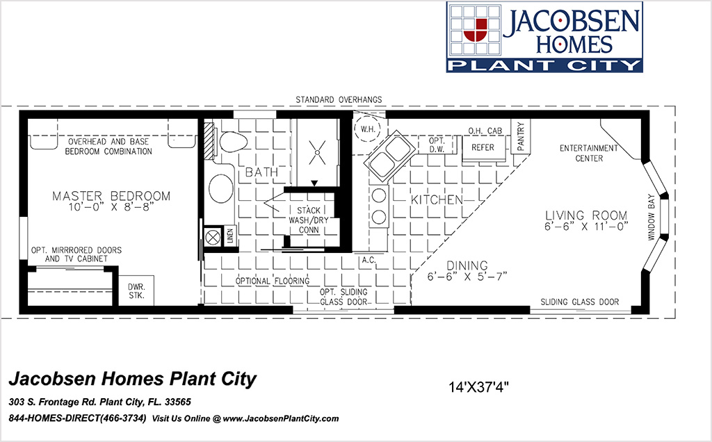 Manufactured Modular Home Floor Plans By Bedrooms Jacobsen Mobile Homes Plant City