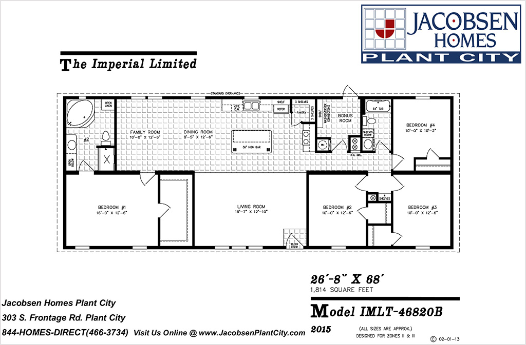 1 800 1 999 Sq Ft Manufactured And Modular Homes Jacobsen Mobile Homes Plant City