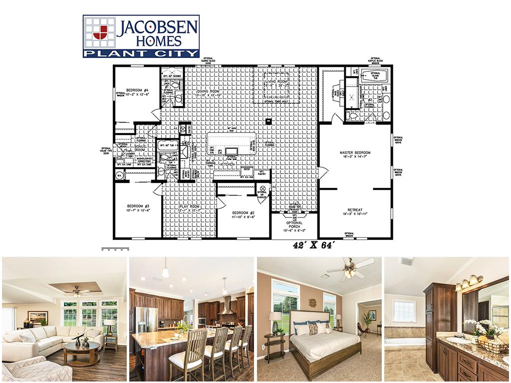 2 000 Sq Ft Jacobsen Mobile Homes Plant City