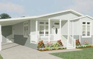Jacobsen Homes Wahoo Model Garage