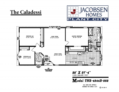 Jacobsen Mobile Home Floor Plan Caladessi